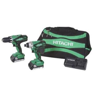 HItachi 18V Drill / Impact Kit KC18DGL
