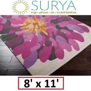 NEW* SURYA BOMBAY AREA RUG 8x11FT BST529-811 153991774 RUGS CARPET FLOORING DECOR ACCENTS MATS PADS