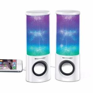 Merkury Innovations Hue Universal Dancing LED Speakers