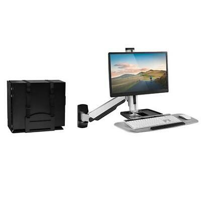 Monitor Stand Wall Mount Sit Up Workstation Computer Station Keyboard Tray Arm Monitor Stand Keyboard Tray