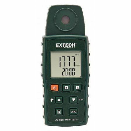Extech Uv510 Ultra Violet Light Meter,Backlit Lcd