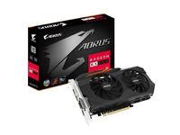 2 X Gigabyte AORUS Radeon RX 580 8GB