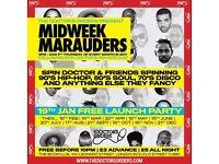 Midweek Marauders - FREE Hip-Hop/Soul/Disco & More at The Book Club, London