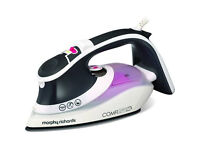 Morphy Richards Comfigrip 2600W Steam Iron – Charcoal/Pink 301020