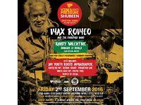 Vibes'N'Pressure Shubeen: Max Romeo LIVE