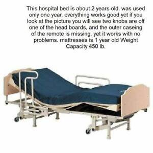 Invacare Carroll Homecare Hospital Bed