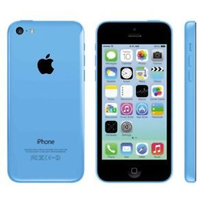 LIKE NEW IN BOX-64GB iPhone 5C BLUE+UNLOCKED+Accessorie