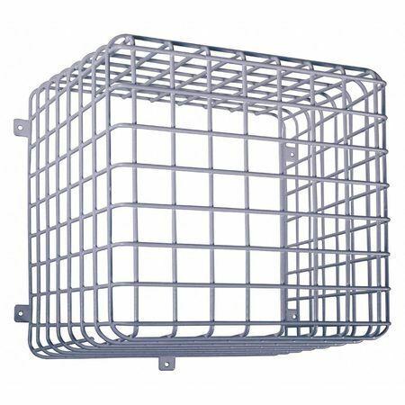 "Safety Technology International Sti-9730 White Surface Mount Wire Cage,12"" H X"