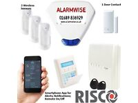 Home Burglar / Security Alarm - Risco Brand - Smartphone enabled
