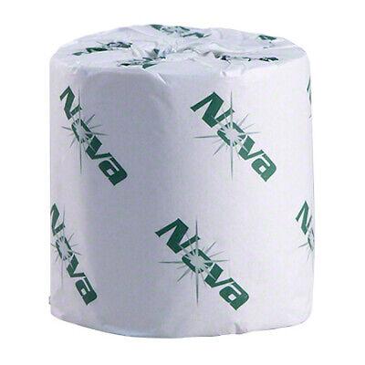 Nova 4535 Bath Tissue Toilet Paper White 2 Ply - 96 Rolls