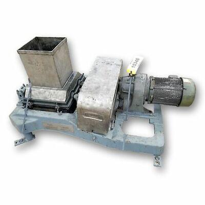 Used Fitzmill Dual Roll Lumpbreaker Lump Breaker Crusher - Stainless Steel