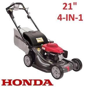 "USED HONDA 21"" 4-IN-1 GAS MOWER HRX217VYA 190115160 LAWNMOWER LAWN MOWER GRASS"