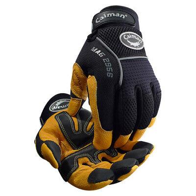 Caiman 2956-6 Mechanics Gloves Blackgold Xl Pr