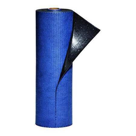 Pig Mat1625 Adhesive-Backed Absorbent Roll, Absorbs 1.31 Gal. Universal, ,Blue