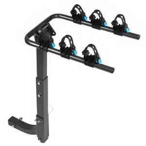 "NEW 2"" Hitch Mount Bike Racks - 2/3/4 Bike Capacity Available"