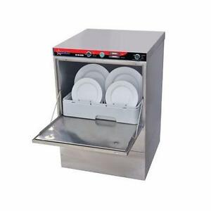 Commercial High Temp Undercounter Dishwasher  FREE SHIPPING