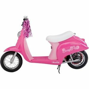 Razor Sweet Pea Girls 24-Volt Electric Scooter  5 and up New