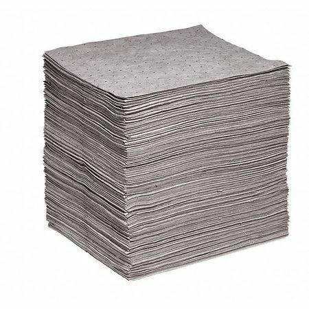 Spilltech Gp-S Absorbent Pad, Absorbs 35 Gal. Universal, Pk 200 ,Gray