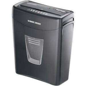 Black & Decker Paper Shredder