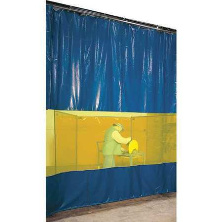 Steiner Awy69 Welding Curtain Partition Kit,9Ft X 6Ft