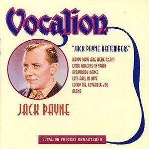 Jack Payne Remembers by Jack Payne (CD, Jun-2014, Dutton Vocalion)