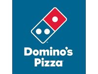 Domino's delivery DRIVERS and experienced MANAGERS wanted