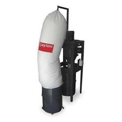 Dayton 3aa24 Dust Collector 2600 Cfm Max Flow 5 Hp 1 Phase