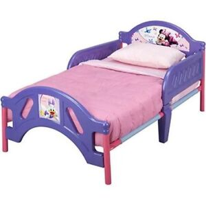 minnie mouse girls toddler bed