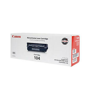 Canon Cartridge 104 for MF4100,4200,4300,4600 price for 2 is $90