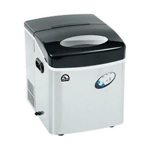 Igloo Ice Maker Extra Large ice-115ss ice in 6 minutes Silver