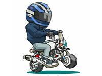 Monkey bike breaking. Z50j dax