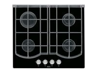 AEG HG653431NB 59cm Gas Hob - Black / Glass