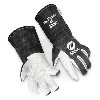 Miller Electric 279898 Tig Welding Gloves Goatskin Palm L Pr