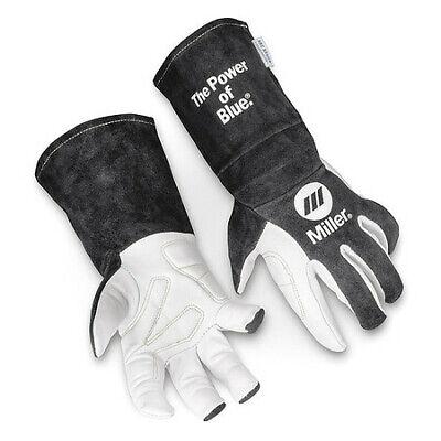 Miller Electric 279898 Tig Welding Gloves Goatskin Palm L Pr