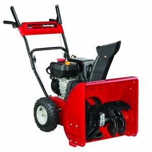 """Yard Machines 24"""" 208cc Two-Stage Snow Blower"""