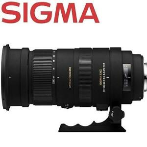 NEW SIGMA ULTRA TELEPHOTO ZOOM LENS 173488220 50 to 500mm f/4.5 to 6.3 APO DG OS HSM SLD for Canon Digital SLR Camera