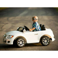 MONSTER TRAX CONVERTIBLE CAR 12-VOLT BATTERY POWERED RIDE-ON