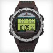 Digital Compass Watch