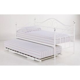 Crystal, finale, Metal Sofa Bed, Day Bed, under trundle, Quality, Single, Mattress,