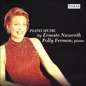 NEW Piano Music by Ernesto Nazareth (16 works) (Audio CD)