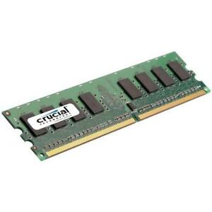 Crucial 4x 1GB DDR2-800 CT12864AA800 For Desktop Ram