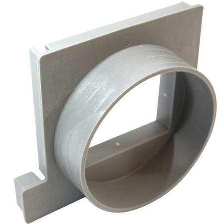 Tuf-Tite Tr1-D4 End Drain,Plastic,Gray