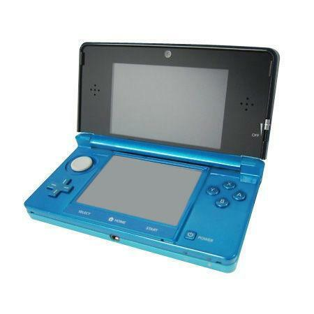 Nintendo 3ds console aqua blue ebay - List of nintendo ds consoles ...