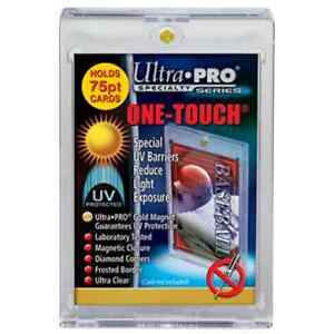 Ultra Pro .... 75 POINT ... ONE-TOUCHs ... BOX OF 25