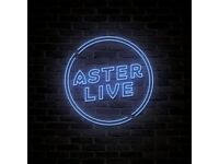 ASTER LIVE : LAUREN JOHNSON AND BAND