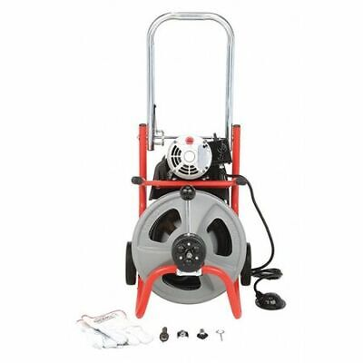 Ridgid 27013 Drain Cleaning Machine13 Hp 12 X 75 Ft. Solid Core Cable