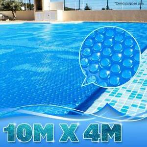 400 Micron Solar Outdoor Swimming Pool Cover Blanket - 10x 4M Bayswater Knox Area Preview