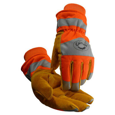 Caiman 1353-6 Cold Protection Glovesxlhi-vis Orngpr