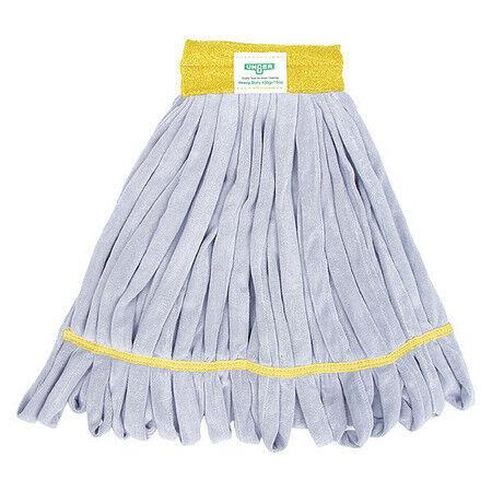 Unger St45y Smartcolor Microfiber Wet Mop, Yellow/Gray
