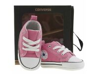 Baby Converse (Pink) Brand New 3-6 months
